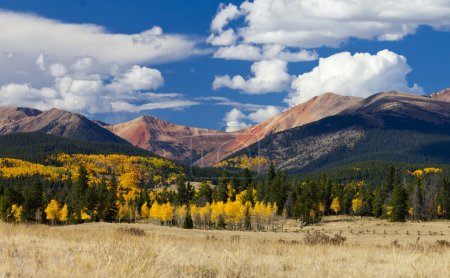 Colorado Rocky Mountains in Fall