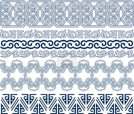 Illustration for Oriental traditional pattern - Royalty Free Image