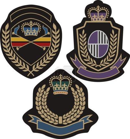 Royal emblem classic shield