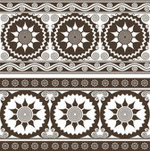 Seamless indian style background