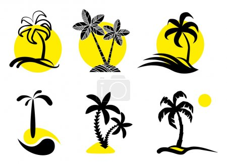 Tropical icons.