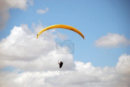 Enjoyment of heights. Paragliding in Macedonia.