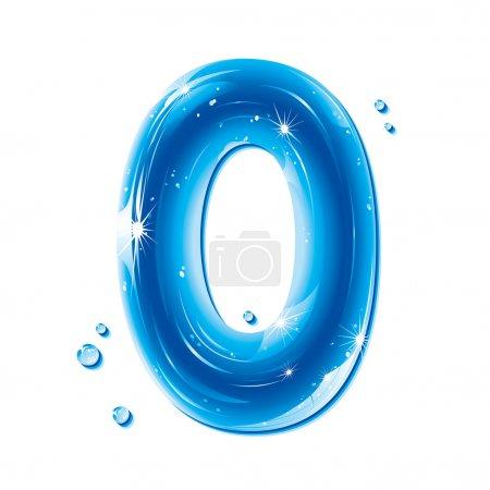 ABC series - Water Liquid Numbers - Number 0