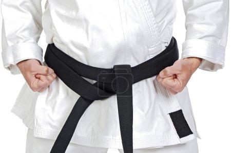 Martial arts pose
