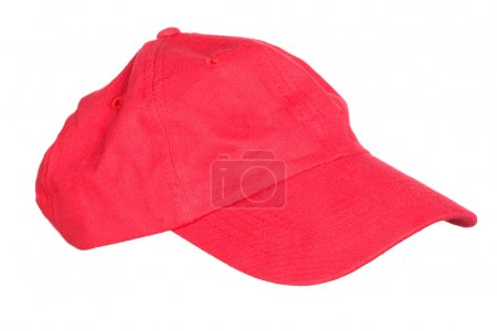 Red cap isolated
