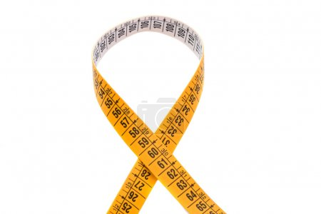 Photo of tape measure cross