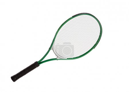 Photo of one racket of tennis