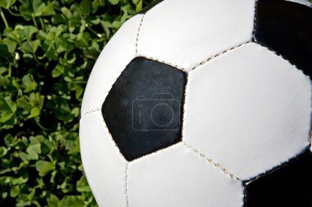 Part of a soccer ball