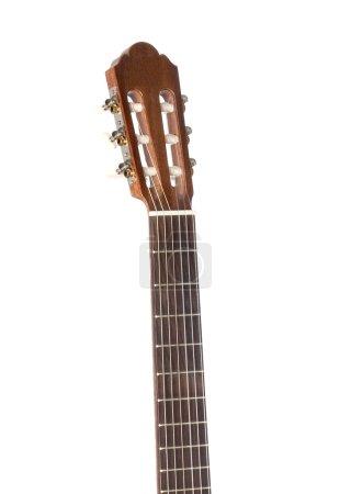 Mast of a classical guitar