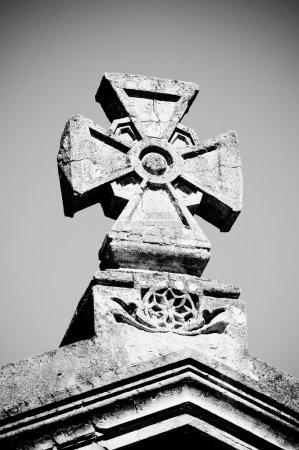 Maltese stone cross