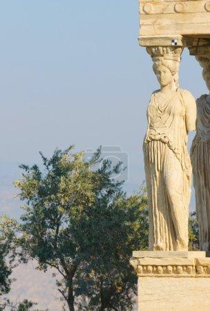 Photo for Caryatids, acropolis, athens - Royalty Free Image