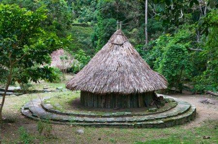 Photo pour Site archéologique Pueblito Parc national Tayrona, Colombie - image libre de droit