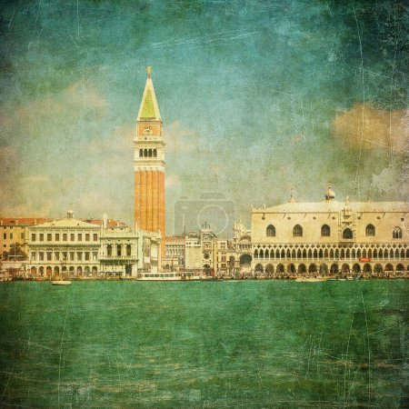 Photo for Vintage image of Venice, Italy - Royalty Free Image