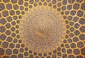"""Постер, картина, фотообои """"купол мечети, восточные украшения из Исфахан, Иран"""""""