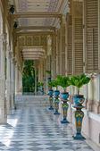 terrasse dans maison de style colonial