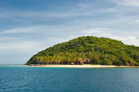 Tropical island near Coron, Philippines