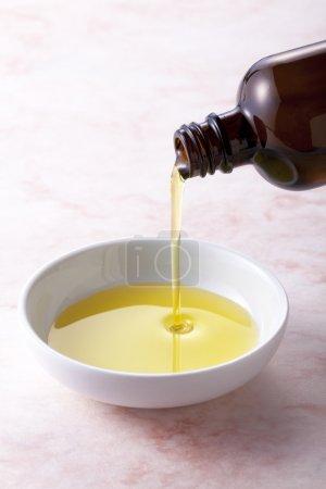 Photo pour Aromathérapie.Huile essentielle.Traitement spa - image libre de droit