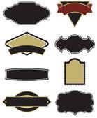 Set of 8 Logo/Label Vectors