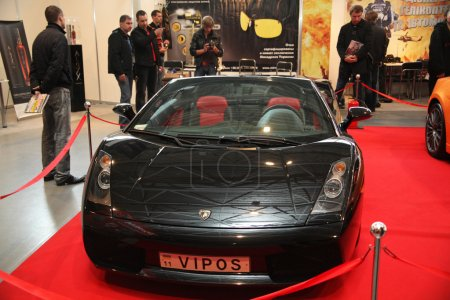 KYIV OCTOBER 31 Lamborghini Gallardo