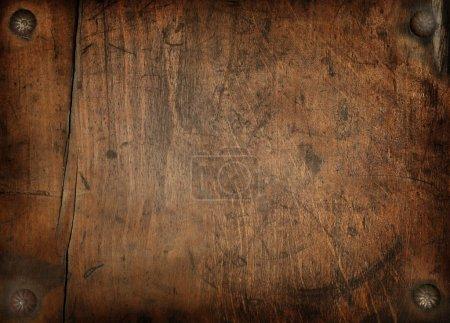 Photo pour Vintage fond en bois - image libre de droit