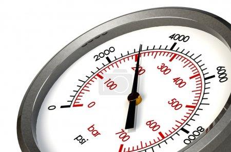 Pressure Gauge 3000 PSI
