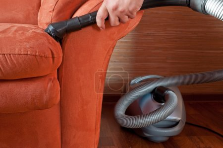 Photo for Furniture vacuum cleaner - Royalty Free Image