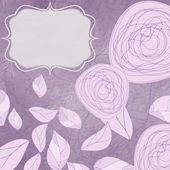 Virágos háttérképek vintage rózsákkal. EPS 8