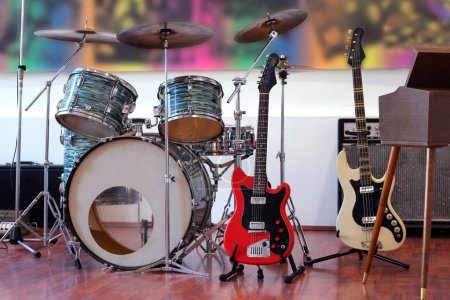Rock Band Instruments