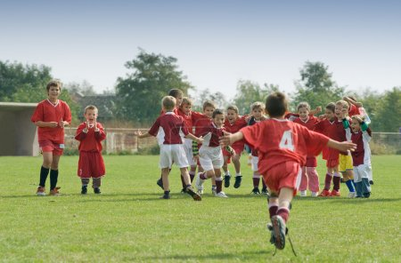 Photo for Kids soccer - Royalty Free Image