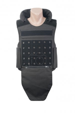 Bulletproof vest isolated