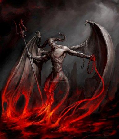 Devil. Art project