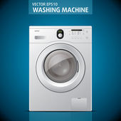 Closed washing machine Vector