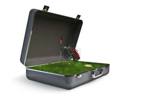 Package holiday golf