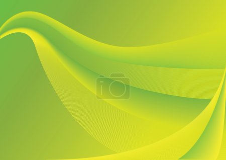 Abstract lime background