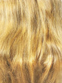 Plavými vlasy closeup