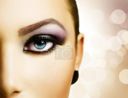 Photo for Beautiful Eye Makeup - Royalty Free Image