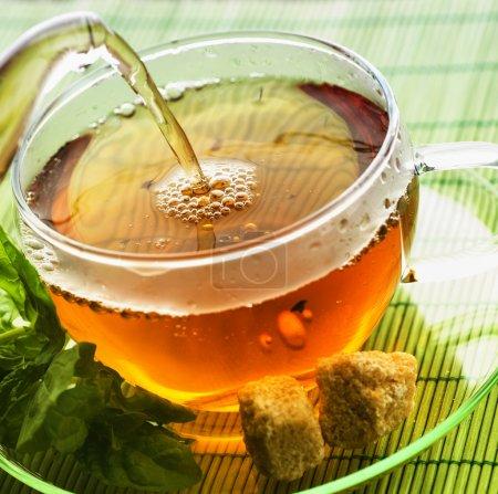Pouring Tea...