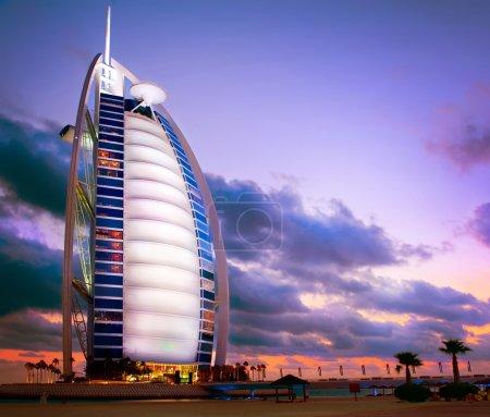 DUBAI, UAE - NOVEMBER 27: Burj Al Arab hotel on NOVEMBER 27, 201