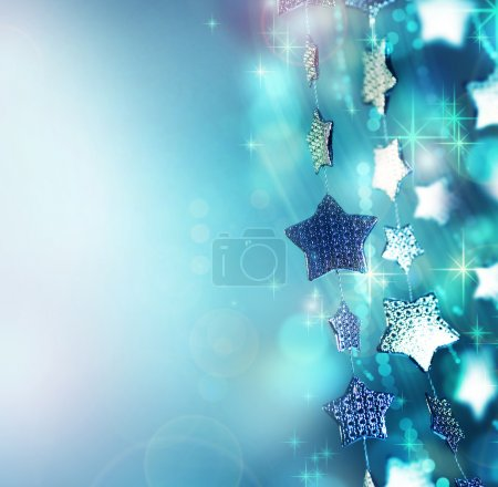 Photo for Abstract Christmas background. Holiday abstract background - Royalty Free Image