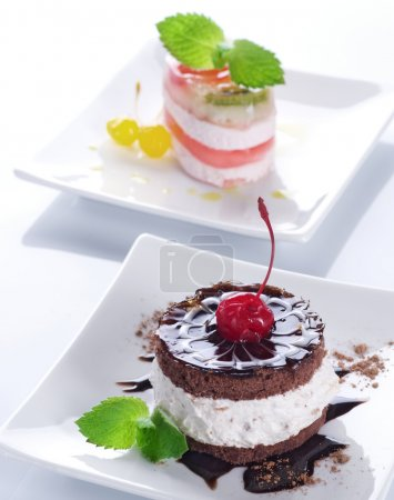 Cake. Selective Focus
