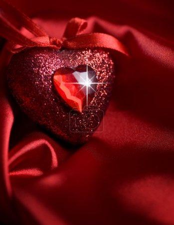 Photo pour Coeur de Saint Valentin - image libre de droit