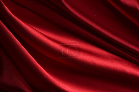 Natural Abstract Red Silk Background