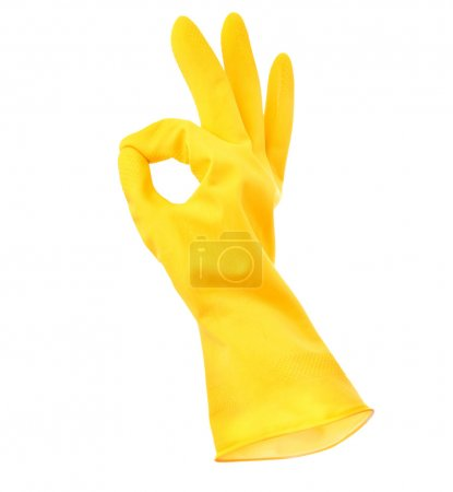 Photo for Rubber Glove - Royalty Free Image