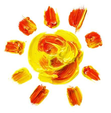 Foto de Sol pintado - Imagen libre de derechos