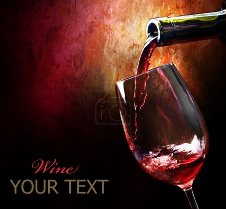 Photo for Red Wine - Royalty Free Image