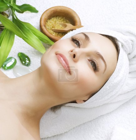 Photo for Spa Girl - Royalty Free Image
