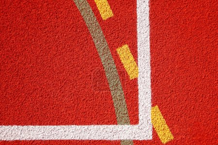 Photo for Lines of sports fields - Royalty Free Image