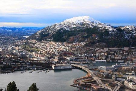 Sunny day at Bergen, bryggen,Norway
