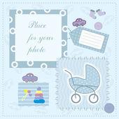 Frame for babys photo