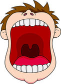 Vector Illustration Of Open mouth